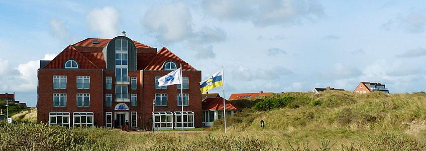 nordsee hotel juister hof mit meerblick am strand von